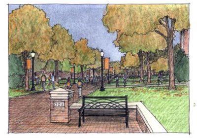 Alaback Design Bennett Legacy Walk 1