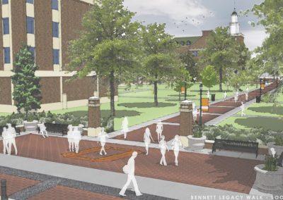 Alaback Design Bennett Legacy Walk Render 1