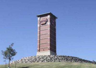 Alaback Design OSU Tulsa Signature Gateway Tower 1