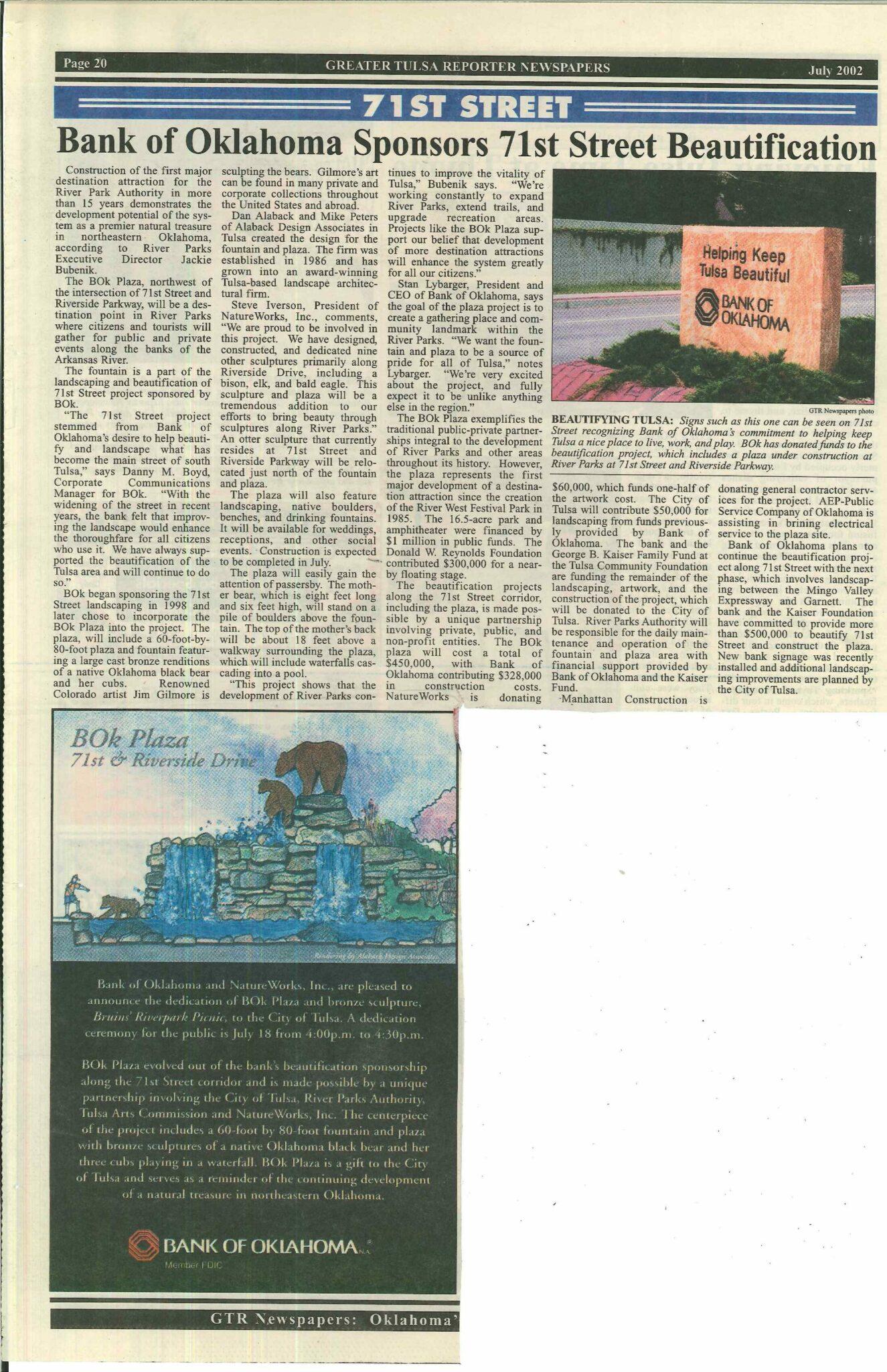 Newspaper Article 71st Street(1)
