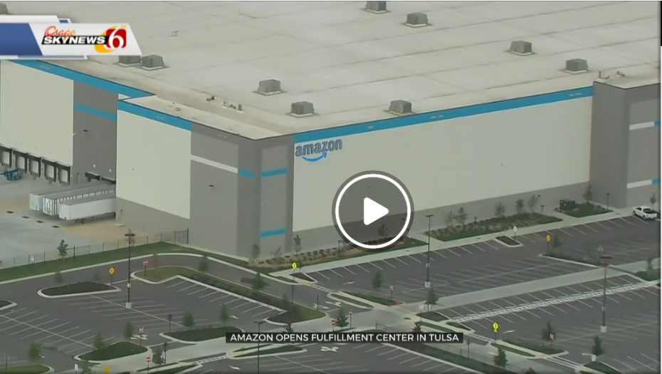 Screenshot 2020 08 06 Amazon Opens New Fulfillment Center In Tulsa